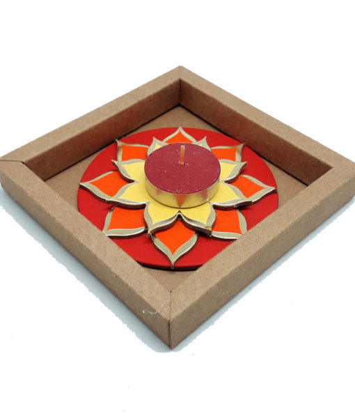 Lotus Diya Single Gift Pack