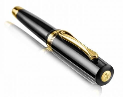 Classic Windsor Gold Trims Rollerball Pen2