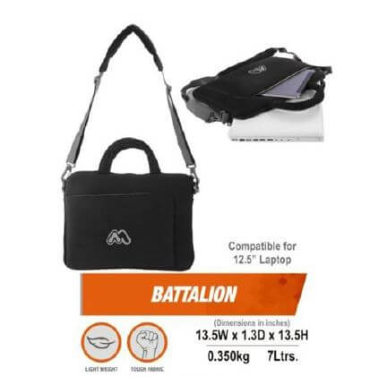 battalion laptop bag